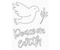 MFT-1616 My Favorite Things Peace on Earth Die-namics