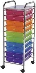 406786 Storage Trolley Multi-Color