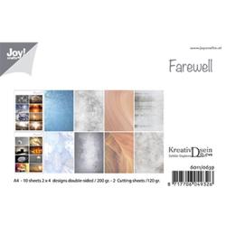 6011/0639 Papierset Design Farewell
