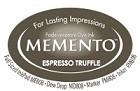 222129 Memento Full Size Dye Inkpad Espresso