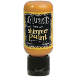DYU 74441 Dylusions Shimmer Paint Polished Jade 1oz