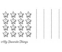MFT-1119 My Favorite Things Stitched Star Grid