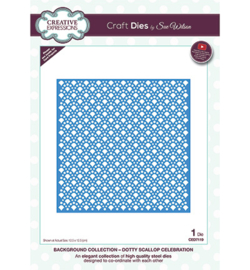 CED7119 Creative Expressions Dotty Scallop Celebration