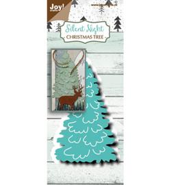 6002/1507 Noor! Design Stans-embosmal  Kerstboom