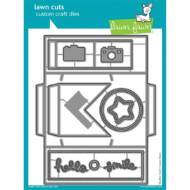 LF2432 Lawn Cuts Custom Craft Die Shutter Card