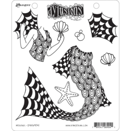 "602349 Dyan Reaveley's Dylusions Cling Stamp Collections Merlady 8.5""X7"""