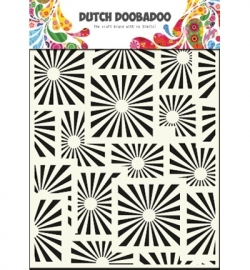 470715012  Dutch Doobadoo - Mask Art Stencils Squares