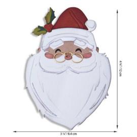 664745 Sizzix Thinlits Die Set - Santa's Wish Colorize 12PK Tim Holtz
