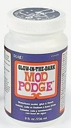 PECS15128 Mod Podge Glow-In-The-Dark 8 oz.