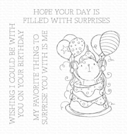 RAM-020 My Favorite Things Sweet Surprise Clear Stamps