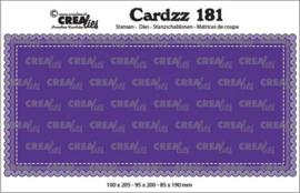 CLCZ181 Crealies Cardzz Slimline A