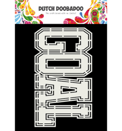 470.713.791 Dutch DooBaDoo Card Art Goal