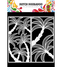 470.784.007 Dutch DooBaDoo Mask Art Slimline Palmtree