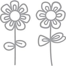 S3323 Spellbinders Shapeabilities Dies Sketched Blooms 2