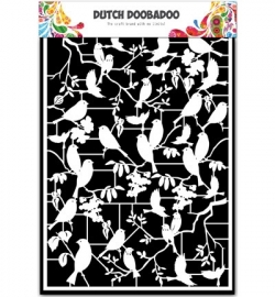472.948.039 Dutch DooBaDoo Paper Art Birds