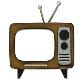 665371 Sizzix Bigz Die Retro TV Tim Holtz