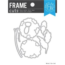 663202 Hero Arts Frame Cut Dies Marigolds