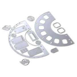 EC1807 Elizabeth Craft Metal Die Planner Essentials 32 Viewmaster