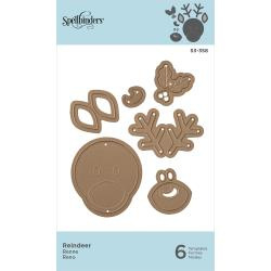 S3358 Spellbinders Shapeabilities Die D-Lites Reindeer