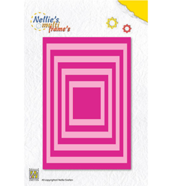 MFD058 Cutting & embossing Straight rectangle