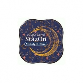 SZM-62 Tsukineko Stazon Midi Ink Pad Midnight Blue