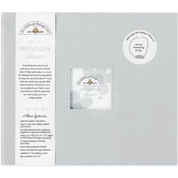 "253511 Doodlebug Storybook Album 12""X12"" Gray"