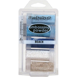 291354 Stampendous Embossing Powder Kit Beach