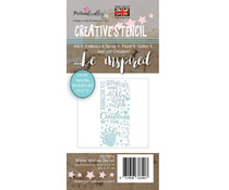 PD7974 Polkadoodles Winter Wishes Christmas Stencil