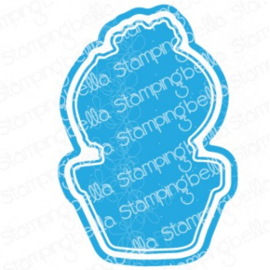 565532 Stamping Bella Cut It Out Dies Cactus Baby
