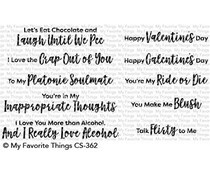 CS-362 My Favorite Things Stamp Sassy Pants Love