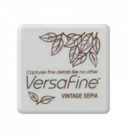VF-SML-054 VersaFine klein Inkpad-Vintage Sepia