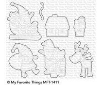 MFT-1411 My Favorite Things Here Comes Santa Claus Die-Namics