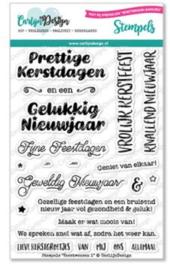 CDST-0066 CarlijnDesign Stempels Kerstwensen 1