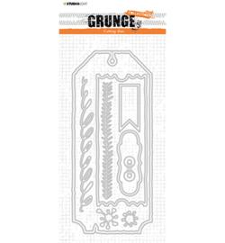 SL-GR-CD88 StudioLight Cutting Die Cardshapes 2 sizes Grunge nr.88