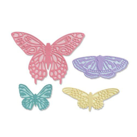 665097 Sizzix Thinlits Die Set - 9PK Flutter on Jessica Scott