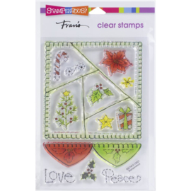 SSC1412 Stampendous Perfectly Clear Stamps Peace Quilt