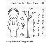 PI-278 My Favorite Things Pure Innocence Sending Blessings Clear Stamps