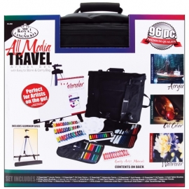 422685 Travel Artist Set With Easy To Store & Carry Bag
