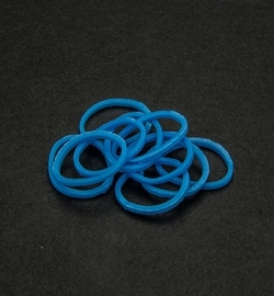 45034 - Band-it - Elastieken Neon Blue 600pcs
