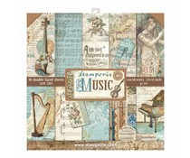SBBL48 Stamperia Paperpack Music