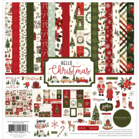 "CBDE125016 Carta Bella Collection Kit Dear Santa 12""X12"""