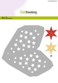 115633/1507 CraftEmotions Die - kerstversiering ster
