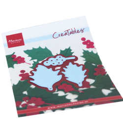 LR0675 Marianne Design Creatable Holly leaves