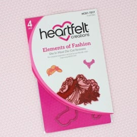 **Heartfelt Creations Dies Elements Of Fashion