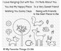 CS-386 My Favorite Things Sweet Spring Friends Clear Stamps