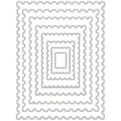 257598 Hero Arts Infinity Dies Nesting Postage Stamps