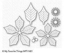 MFT-1401 My Favorite Things Perfect Poinsettia Die-Namics