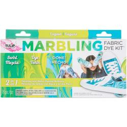 431072 Tulip Marbling Fabric Dye Kit Lagoon