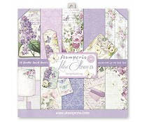 SBBL21 Stamperia Lilac 12x12 Inch Paper Pack