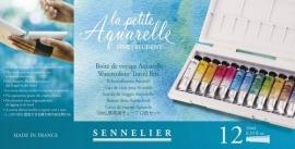 313113/1682 Sennelier La Petite Aquarelle set 12 tubes a 10ml N131682.00